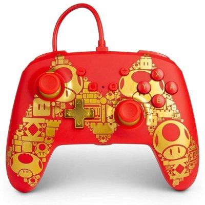 Switch Controller Golden M offiziell lizenziert POWER A...