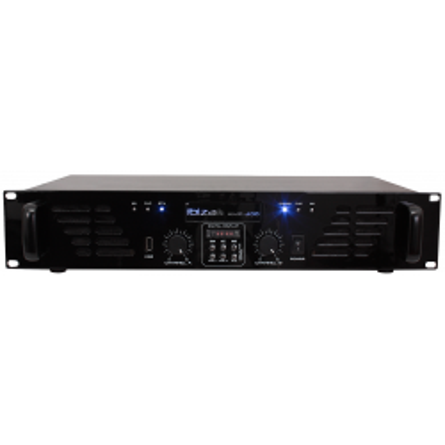 PA-Verstärker IBIZA AMP300USB-BT 480W, USB, MP3,...