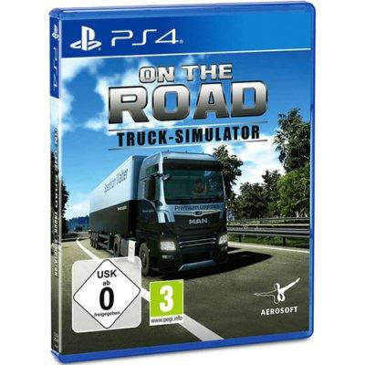 Truck Simulator On the Road Spiel für PS4 LKW