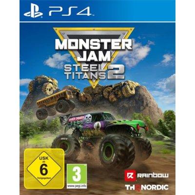 Monster Jam Steel Titans 2 Spiel für PS4