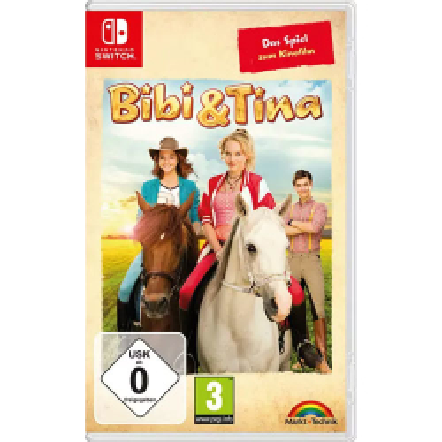 Bibi + Tina - Kinofilm Spiel für Nintendo Switch...