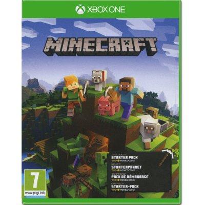 Minecraft Spiel für Xbox One Starter Pack UK multi