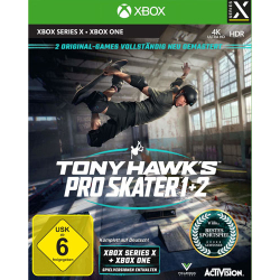 Tony Hawks Pro Skater 1+2 Spiel für Xbox Series X...