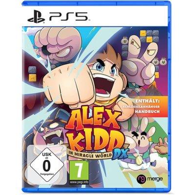 Alex Kidd Spiel für PS5 in Miracle World DX