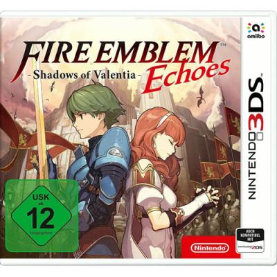 Fire Emblem Echoes 3DS Shadows of Valentina