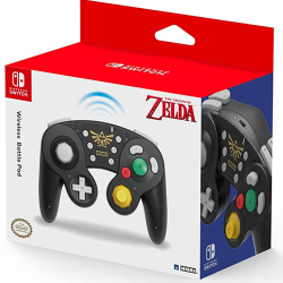 Switch Controller Battle Pad Zelda (GC) wireless HORI