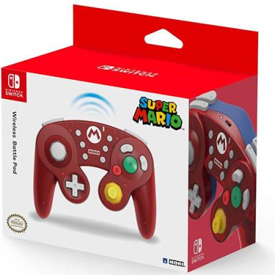 Switch Controller Battle Pad Mario (GC) wireless  HORI...