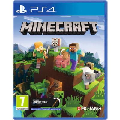 Minecraft Spiel für PS4 Starter Collection