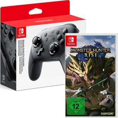 Switch  Controller PRO + MHRise Nintendo
