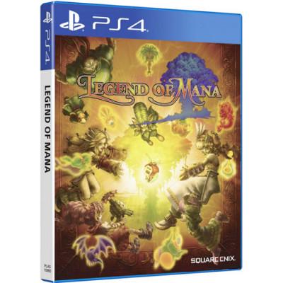 Legend of Mana Spiel für PS4 ASIA Remastered ENG UT