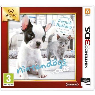 Nintendogs Bulld.+Friends 3DS UK SELECTS