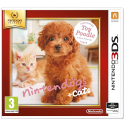 Nintendogs Toy Poodle+Friends 3DS UK Multi SELECTS