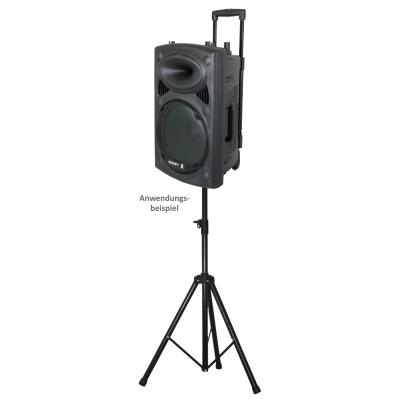 Lautsprecherstativ IBIZA SS03 max. 1,8m Höhe, max. 30kg