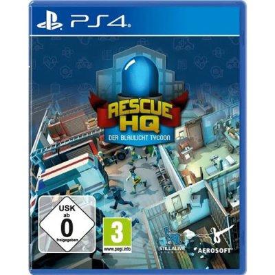 Blaulicht Tycoon  Spiel für PS4  Rescue HQ