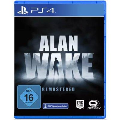 Alan Wake Remastered  Spiel für PS4